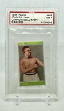 1967 Panini Campioni Dello Sport Boxing John Sullivan #482 PSA 7 Near Mint