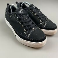 Gravity Defyer Men's Size 9 Canvas Lace Up Versoshock Shoes Walking Casual Black