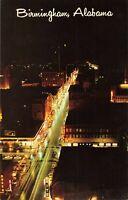 Postcard Downtown Birmingham Alabama