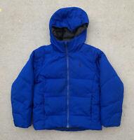 Polo Ralph Lauren Boys Size 8 Small Kids Down Puffer Ski Jacket Coat Blue - $165
