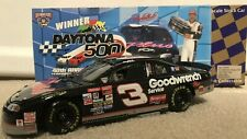1998 DALE EARNHARDT #3 GOODWRENCH DAYTONA 500 WIN MONTE CARLO ACTION 1/24 CWC