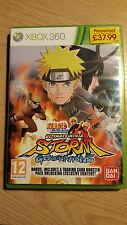 Naruto Shippuden Ultimate Ninja Storm Generations - Xbox 360 - UK PAL - Complete