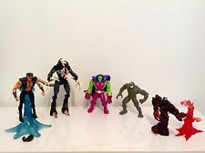 +++++LOT FIGURINES MARVEL DC COMICS 1997 Très Bon Etat++++