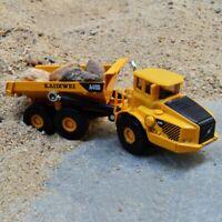 1:87 Scale Alloy Dump Truck Diecast Construction Cars Toys Model Kids Best Gift