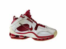 Nike Mens Shox Elite Flight Basketball Shoes White 040709 LN3 Lace Up 8.5 M