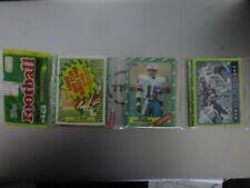 1986 Topps Football Sealed Rack Pack - Bernie Kosar Rookie showing! Browns!