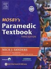 Mosby's Paramedic Textbook by McKenna Kim and Mick J. Sanders (2005, Hardcover,