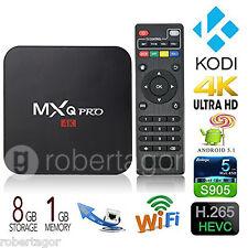 ANDROID BOX IPTV SMART TV PLASMA LED FULL HD 4K USB H.264 QUAD CORE MXQ PRO