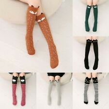 Womens Kawaii 3D Lovely Cartoon Animal Thigh Stockings Over Knee High Long Socks