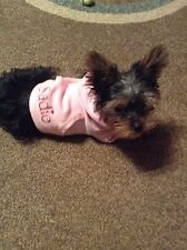Doggie (or SMALL ANIMAL, CAT)  Hoodie, personalized, x-sm   up to 4 pound size
