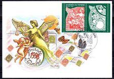 FRANCE FDC - 1998 6 JOURNEE DU TIMBRE - 3136a - LYON -SUR CARTE POSTALE