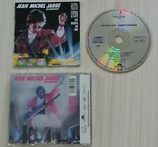 CD JEAN MICHEL JARRE EN CONCERT LYON HOUSTON 9 TITRES 1987 MADE IN GERMANY