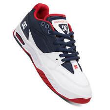 DC Shoes Maswell navy/white Herren Skateschuhe weiß navy rot oldschool Sneaker