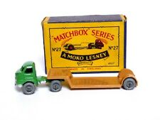 Matchbox Lesney No.27a Bedford S Type Low Loader In Type 'B1' MOKO Box (VERY NM)