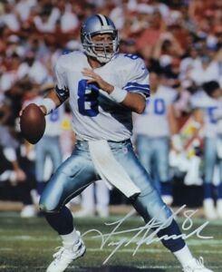 Troy Aikman Authentic Autographed 8x10 Photo w/ COA