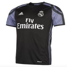 bf70b27c3 Adidas Away 3rd Jersey Real Madrid 2016 2017 Black Purple 15 16 Years
