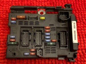 BSM B3  Peugeot Citroen  boitier porte fusible   - 9650664080