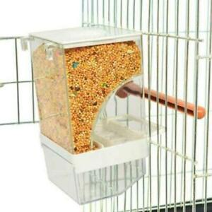 Bird Cage Auto Food Seed Feeders Automatic European No More Mess HOT
