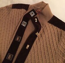 Tory Burch cardigan, sweater, women, brown/camel color, M