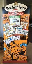 McDonald's Floor Lobby Merchandiser Display. Sealed! See Pictures! Monopoly!