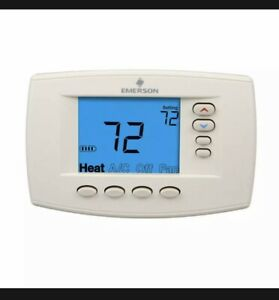 Thermostat White Rodgers Universal 7 Day Programmable Blue Easy Read 1F95EZ-0671