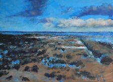 Terry George painting of Cromer beach in Norfolk