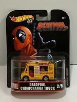 Hot Wheels 50th Deadpool Chimichanga Truck FLD27