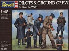 Kit Revell 1 48 7 Figure Non colorate Pilots & Ground Crew WWII Art 02621