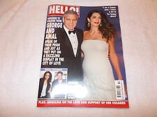 Hello! Magazine Issue 1471 March 6th 2017 George Clooney Amal Prince Harry & Meg