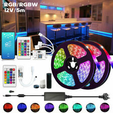 5-20m 12V LED Stripe RGB RGBWW 5050 Leiste Streifen Band WiFi APP Control Trafo