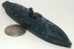 Small Micro Machine Ship CSS Virginia (Former USS Merrimack)