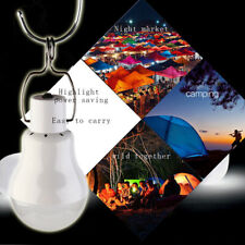 15W Portable Solar Powered LED Rechargeable Bulb Outdoor Camping Tent Yard Lamp