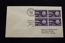 SPACE COVER 1960 MACHINE CANCEL 1ST DAY ISSUE ECHO 1 COMMUNICATIONS SAT (2598)