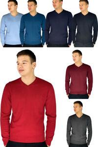 Pierre Cardin Mens New Season Essential V-Neck Knitted Jumper