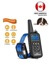 2019 Latest Version 330 Yards Range Remote Dog Training Collar Rechargeable NEW