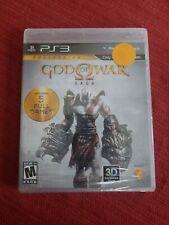 God of War Saga (Sony PlayStation 3, 2012) BRAND NEW SEALED