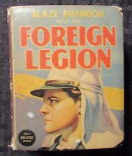 1938 Blaze Brandon FOREIGN LEGION VG 4.0 Whitman #1447 Big Little Book