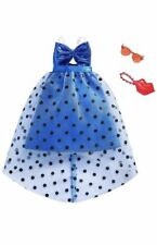 NEW BARBIE DOLL COMPLETE LOOK FASHION PACK OUTFIT Bow Party Dress