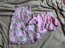 Little Girl's Oilily Dress & Cardigan Pink 18-24 Months