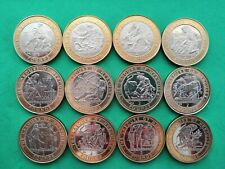 More details for gibraltar 1997-2000 12 labours of hercules original set of two pounds