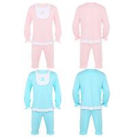 Men Adult Pajamas Cute Baby Sleepwear Cosplay Fancy Dress Bib Tops Short Pants