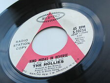 THE HOLLIES 1967 USA 45  KING MIDAS IN REVERSE  RADIO STATION COPY  NOT FOR SALE