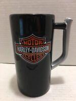 Vintage Harley Davidson Black and Silver Large Coffee Mug