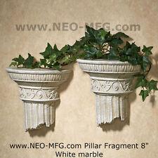 "Roman Greek Wall Column plaque Fragment relief 8"" each"