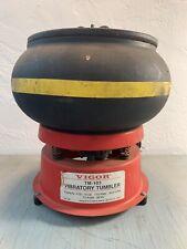 Vigor TM-103 TM103 INDUSTRIAL Rock Tumbler w/grit Brass Polisher 3 Quart 10lb