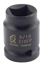 """Sunex Tools SUU-218FP 1/2"""" Drive, Female Pipe Plug Socket, 9/16"""""""