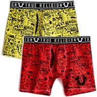 True Religion Men's Hand Drawn Boxer Brief Underwear
