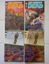 4 diff WALKING DEAD #100 VARIANTS/1ST NEGAN/DEATH OF GLENN/100E 100F 100G 100H