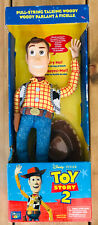 Disney Pixar Toy Story 2 Talking Woody Think Way 2002 Mint Boxed Collectors Item