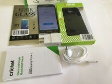 Samsung Galaxy Amp Prime 2 Smartphone Cricket Gray Android FREEScreen Protection